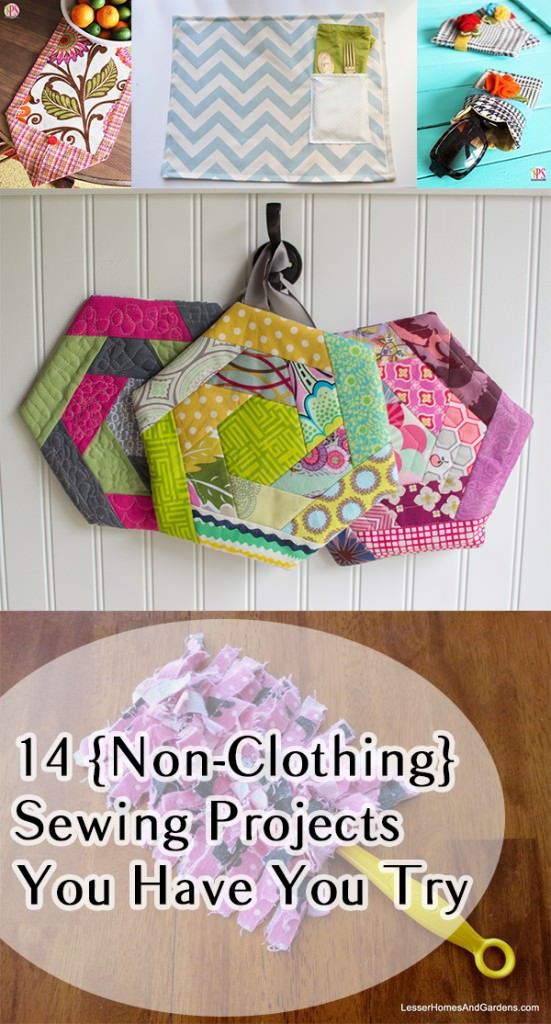 Think sewing is just for you grandmother? Think again! Personalize your stuff by creating it yourself! Get inspired with these DIY tutorials.
