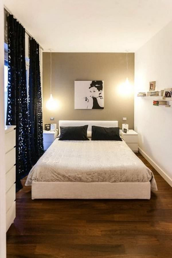 Creative ways to make your small bedroom look bigger - How to make a small space look bigger ...