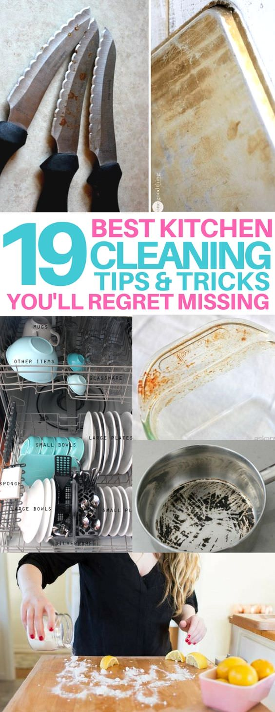 Whether you're an experienced cook or a novice in the kitchen, these hacks will help you clean like a pro!