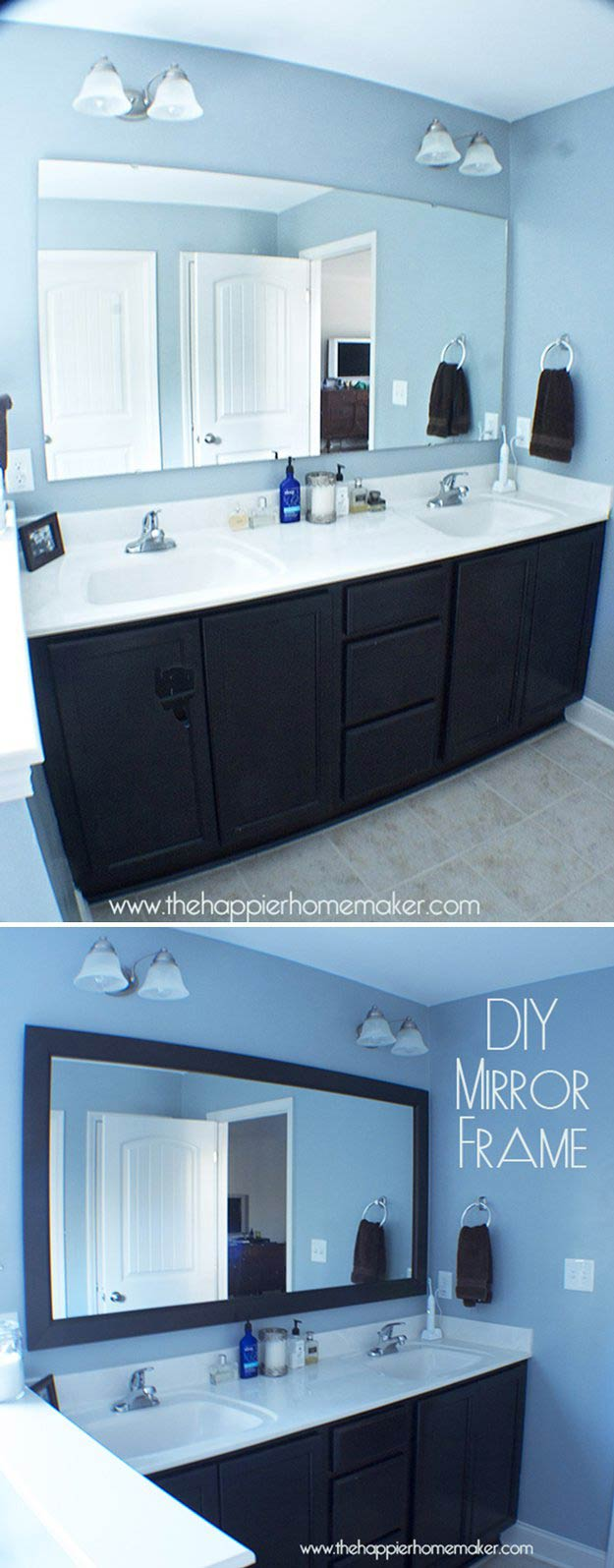 2. DIY Mirror Frame