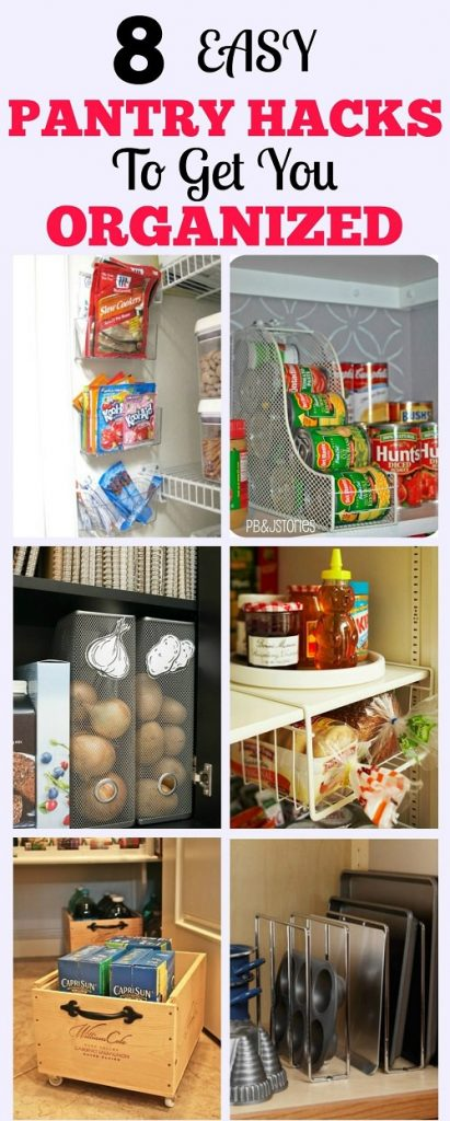 How To Organize Pantry Dollar Store