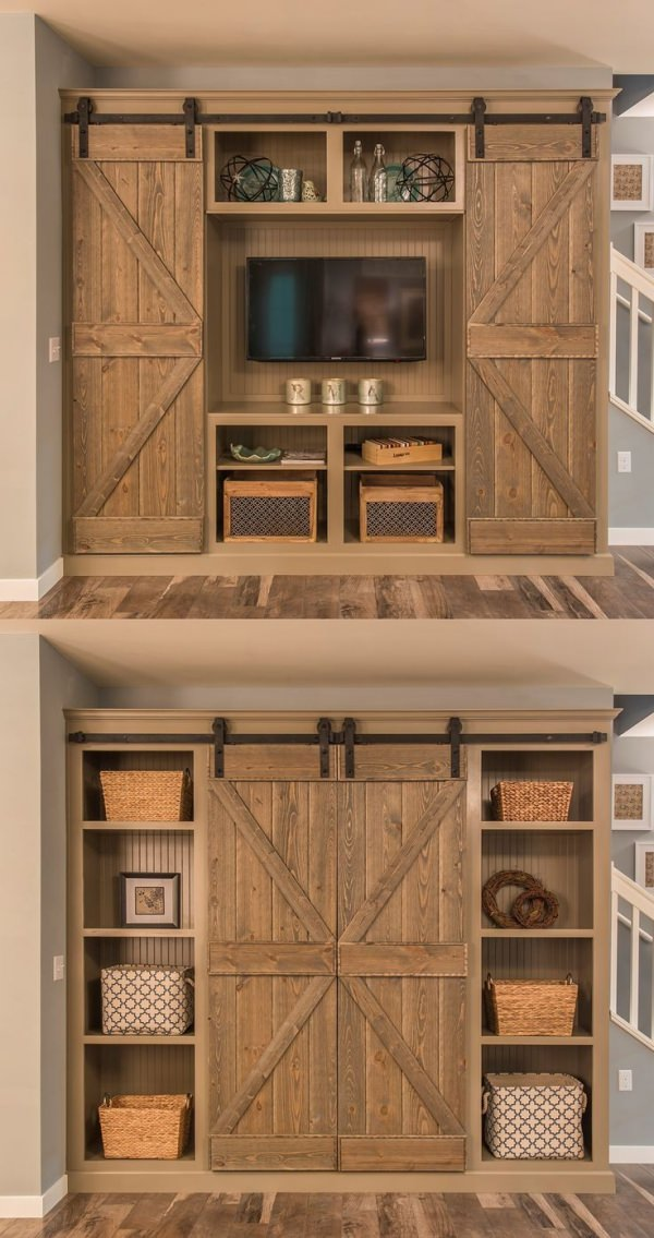 Check out these 12 amazing barn door projects that will inspire you!