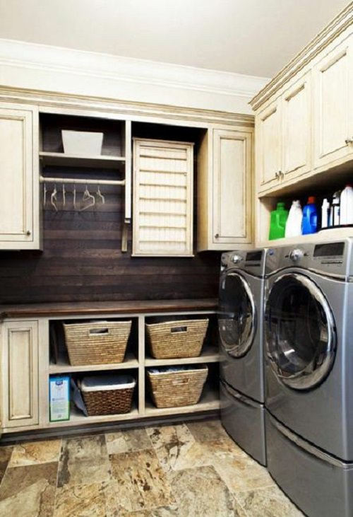20 Space Saving Ideas for Functional Small Laundry Room Design ...