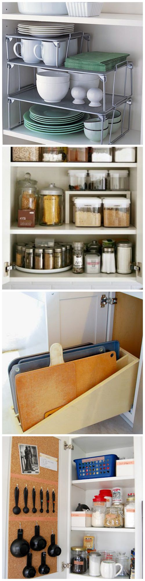 If you are looking to organize your kitchen, these amazing ideas will help you make the most out of your cabinets.