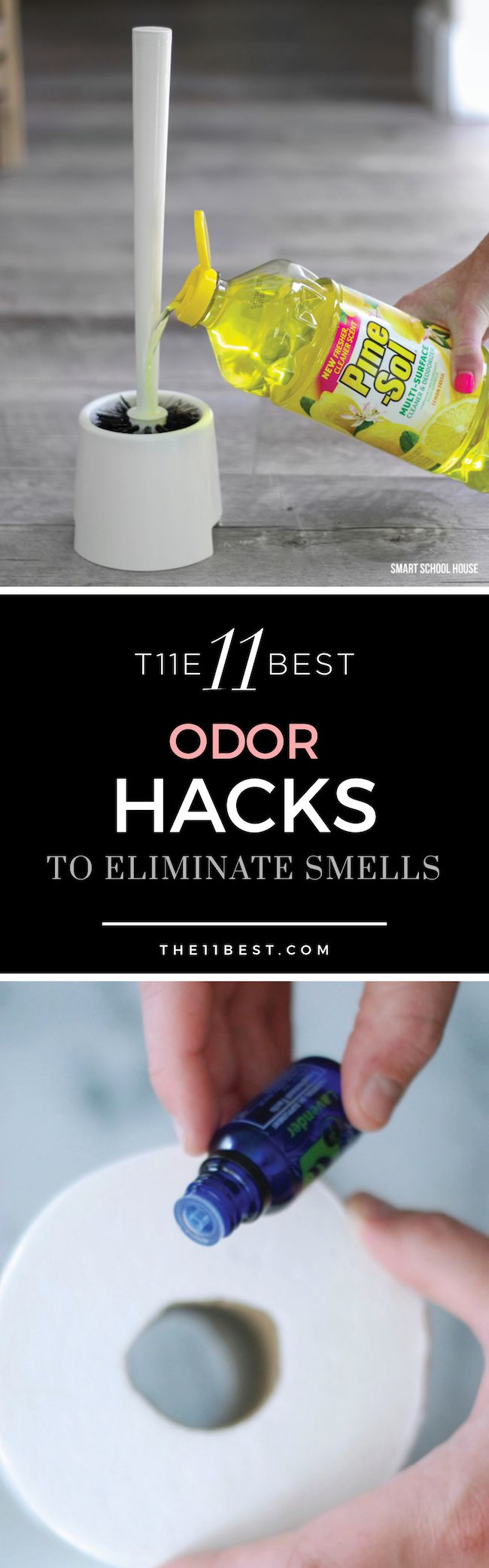These 11 Best Hacks for Eliminating Odors will help you say goodbye to stink once and for all.