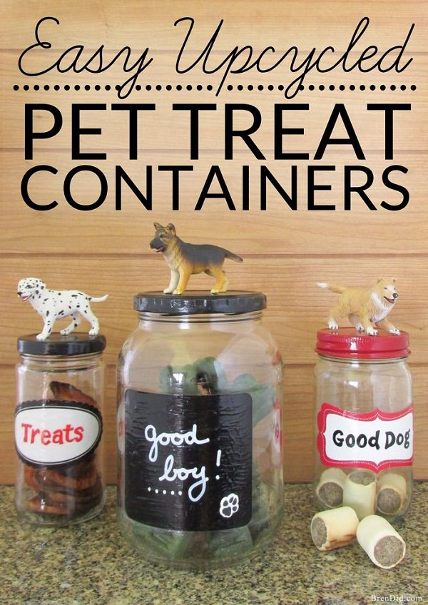 Reuse Dog Food Cans
