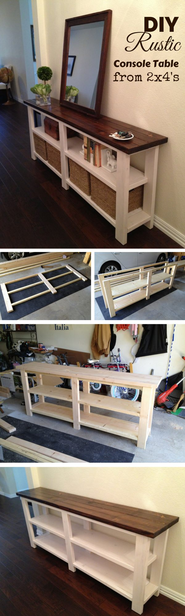 The following are 15 great DIY 2×4 projects will satisfy your DIY itch.