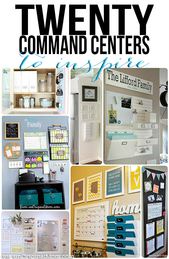 Here Are 20 Command Center Ideas that will inspire you!