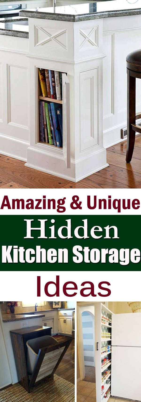 Amazing and unique hidden kitchen storage ideas house good for Hidden kitchen storage ideas