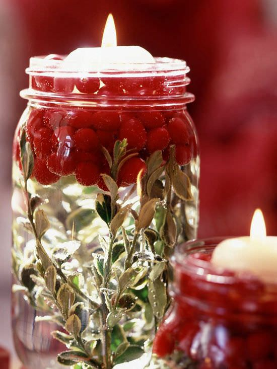 That's why we give brought altogether some creative, easy and inexpensive holiday candle projects.