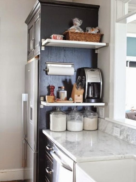 If you have a small kitchen, use these ideas to add more counter space to your kitchen.