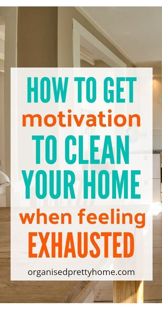 Here are some helpful suggestions, that women like you, use to get the motivation to clean their own homes and get back into a regular cleaning routine.
