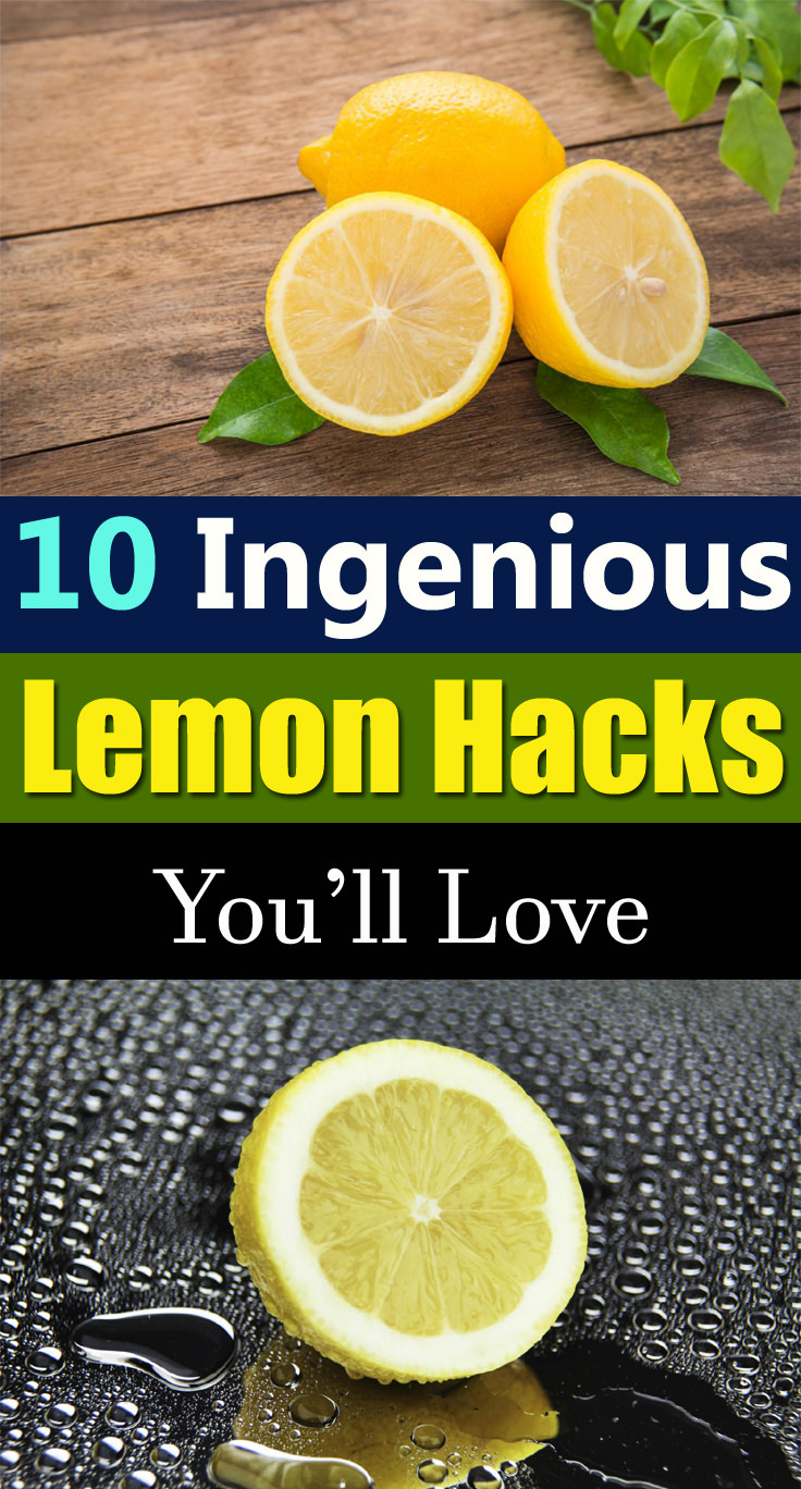 Apart from the cooking, you'll be amazed by what else lemon can do!
