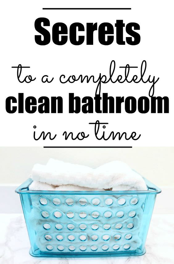 These 5 EASY tips will help you to have an always clean bathroom!