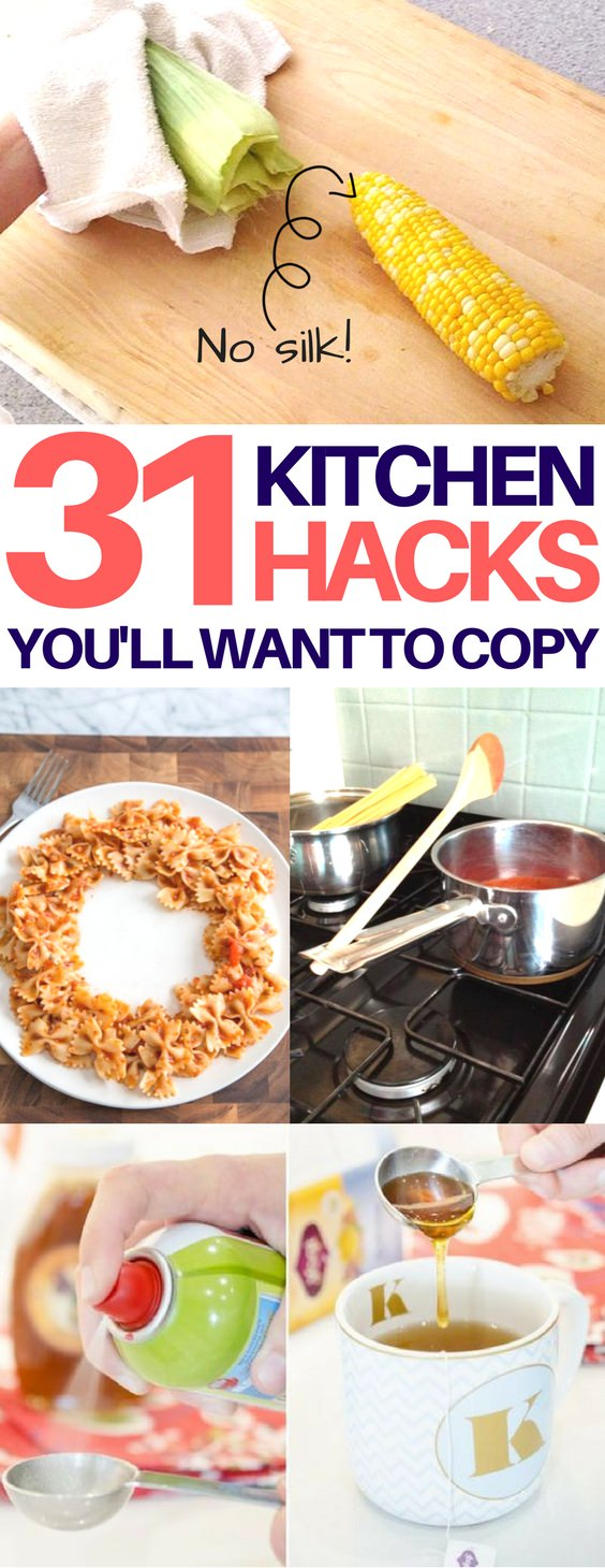 These handy tips & tricks will save your time and money and make working in the kitchen easy. Check out!