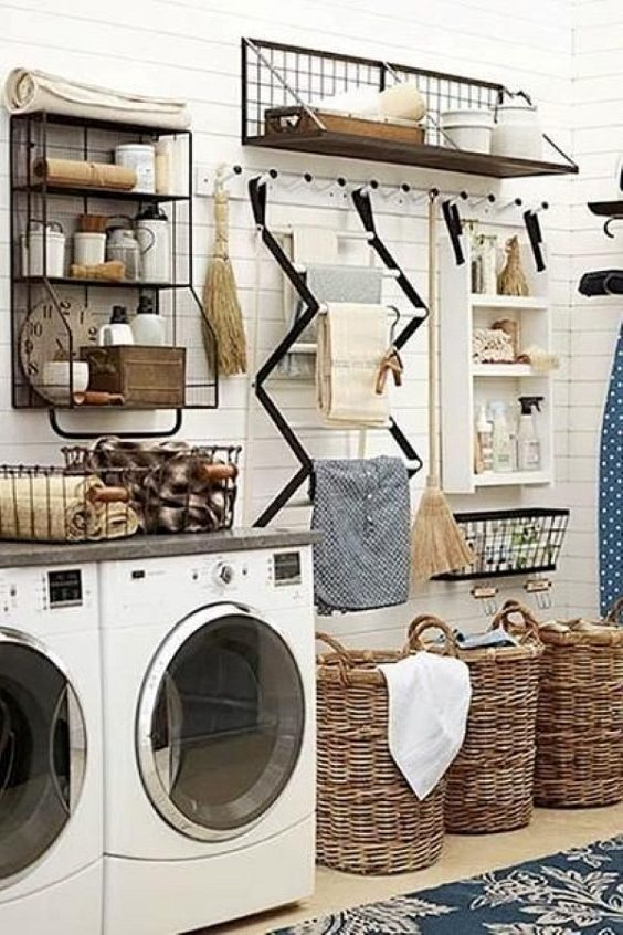 Here Are 10 Laundry Room Ideas We're Obsessed With.