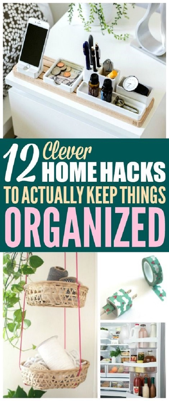 These tips are a great solution for house organization and decluttering. Seriously, they can help you to get things done quickly. So check them out and let me know what you think!