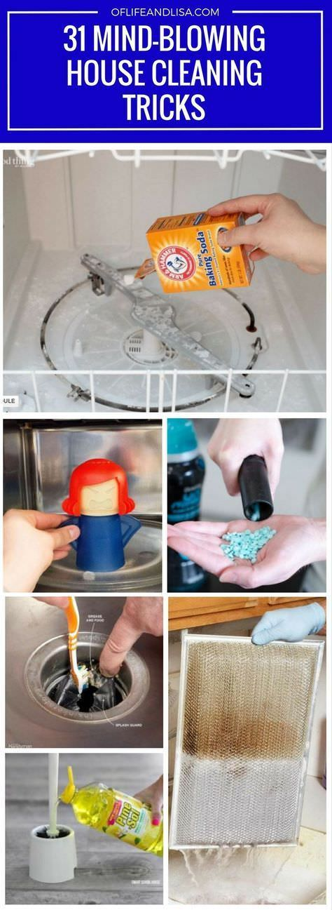 You will never clean your house the same after seeing these amazing house cleaning tips and tricks from the some of the world's greatest house cleaning pros.